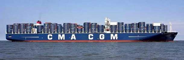 CMA CGM underskud på 43 mio. dollar