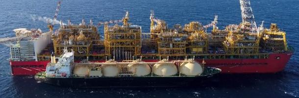 Shells Prelude leverer sin første LNG