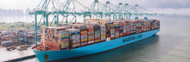 Monaco Maersk sætter verdensrekord
