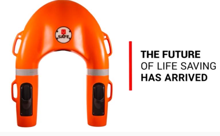 Fremtiden indenfor redningsveste er fjernstyret