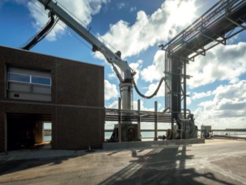 Nye lossefaciliteter til 75 millioner står færdig