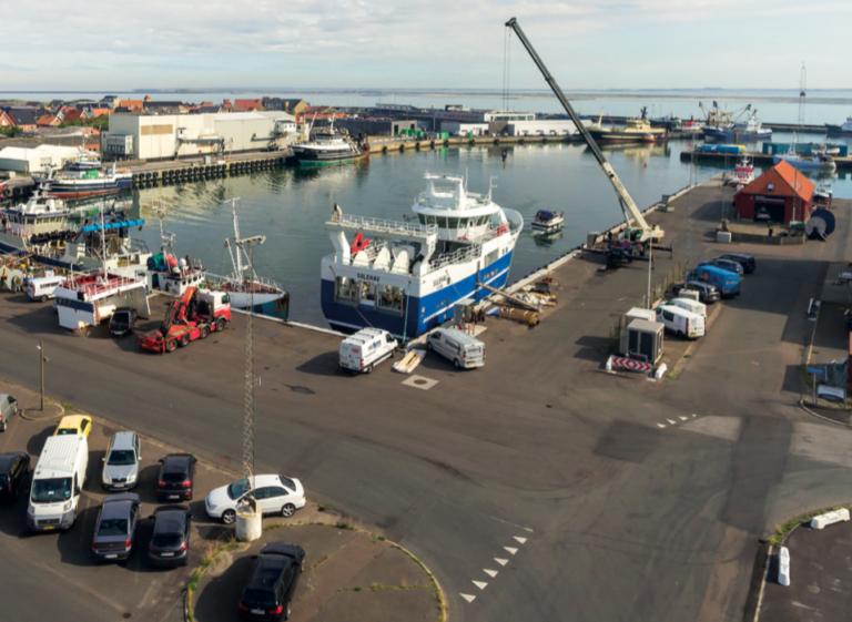 Nyt havnebassin til nybygninger står færdigt