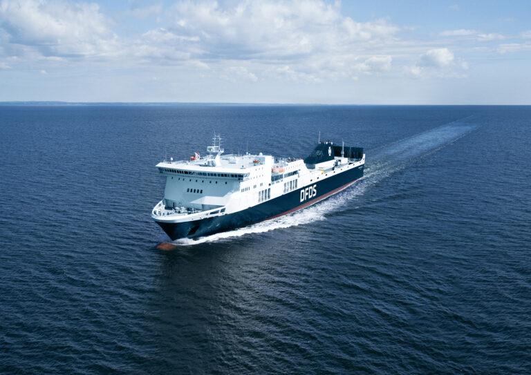 DFDS melder fald i passagerer og stigning i fragt