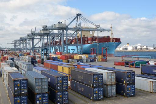 Pladsproblemer på Maersk-terminal i Aarhus