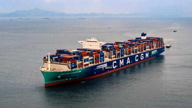 CMA CGM udvider flåden med seks LNG-skibe