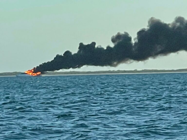 USCG oversees diesel spill clean-up near Marquesas