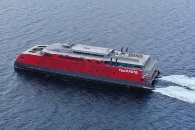 Ny stor passagerfærge til Hirtshals