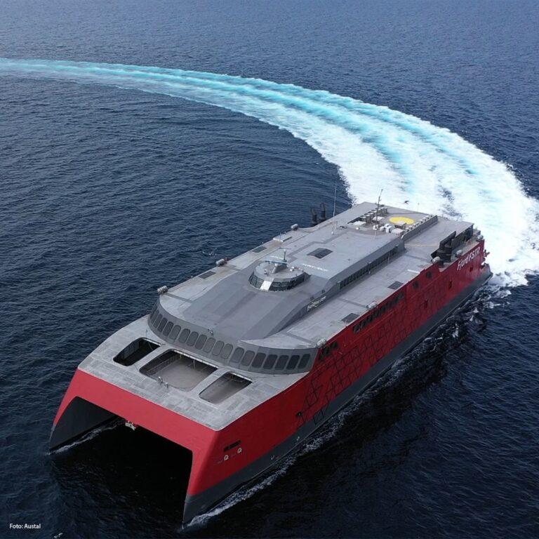 Datoen er sat – Nu skal hurtigfærgen Fjord sejle med passagerer