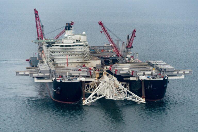 Nord Stream 2 – rørledning B kan nu idriftsættes
