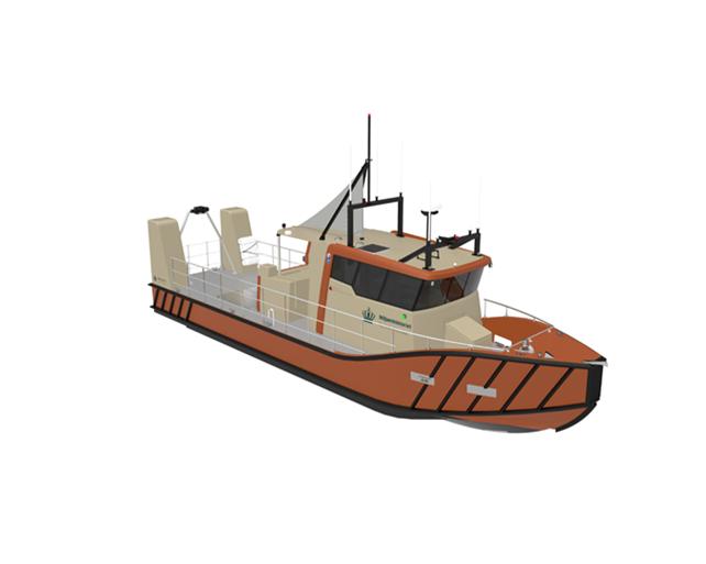 Kystdirektoratet bestiller nyt opmålingsskib hos Tuco Yacht Værft i Faaborg