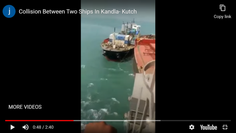 Video: Maritime hit-and-run —lawyers seek damages