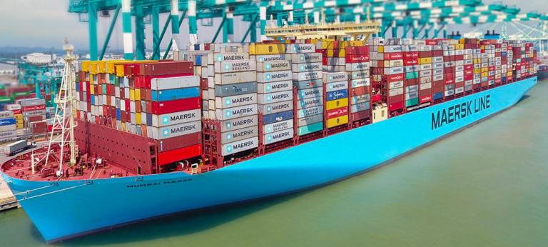 Britisk storhavn overfyldt af containere – Maersk dropper Felixstowe