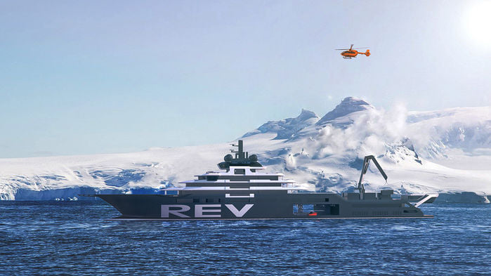 $500m research yacht faces years of delays