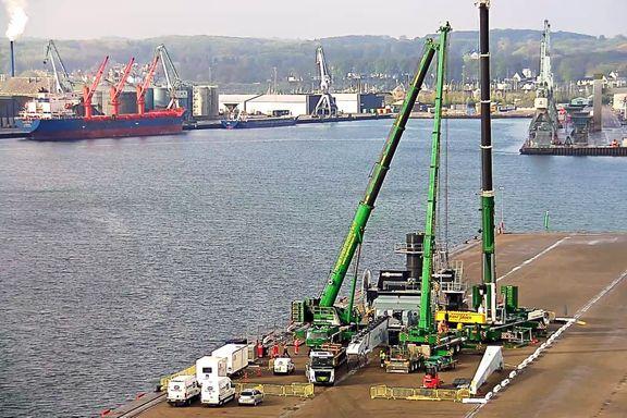 Grøn strøm og el er fremtiden for havnenes kraner og biler