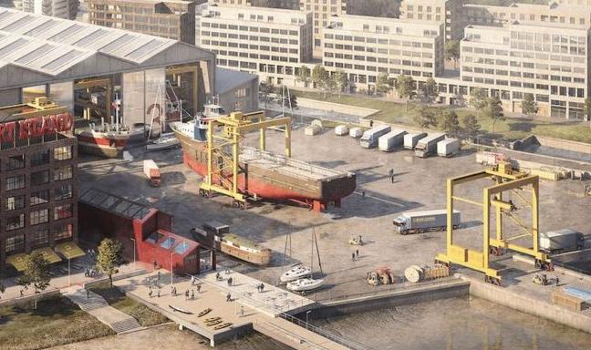 Storby skal have sit første nye skibsværft i mere end hundrede år