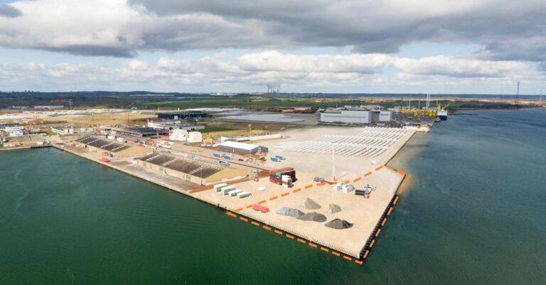 Dansk havn udvider kaj med knap 28.000 kvadratmeter