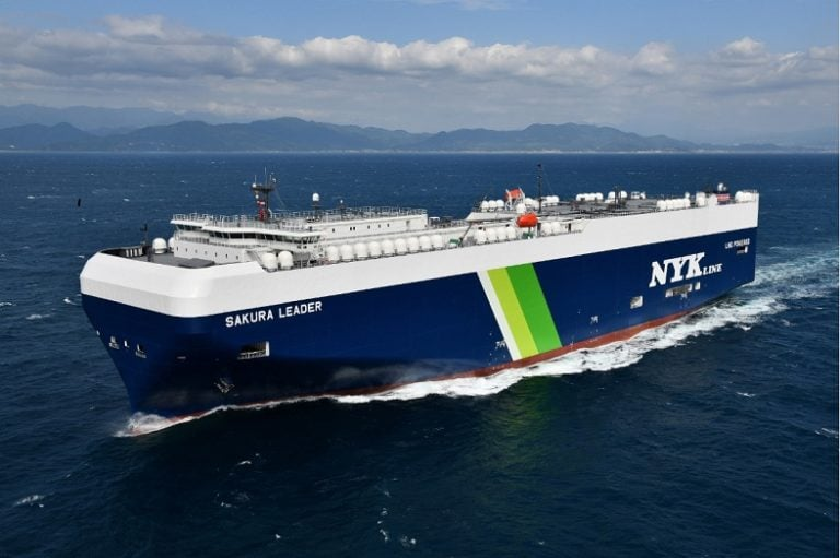 NYK orders 12 new LNG-powered PCTCs
