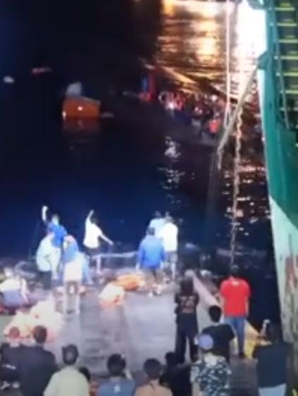 Skræmmende video: Flere døde efter færgeforlis