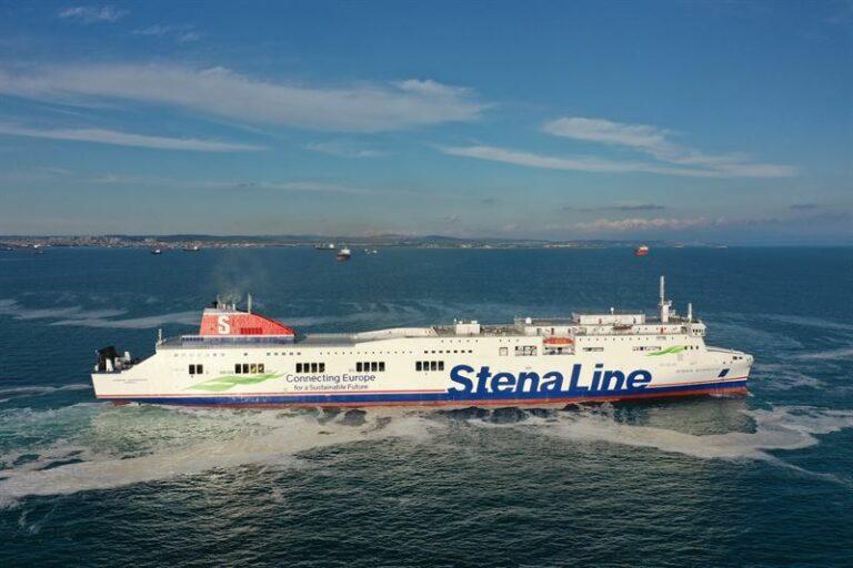 Video: Se Stena Lines nyeste RoPax-færge