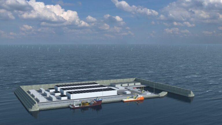 Giganter i fælles bud på energiøen i Nordsøen