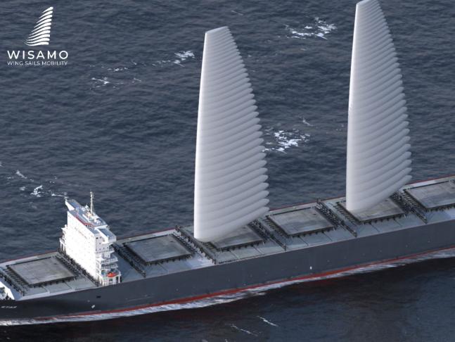 Michelin vil sælge oppustelige sejl til skibe