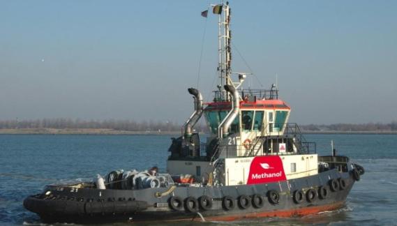 Belgisk havn lancerer slæbebåd på methanol
