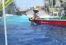 VIDEO: 63 Rescued, 4 Missing After Sea Platform Tilts in China