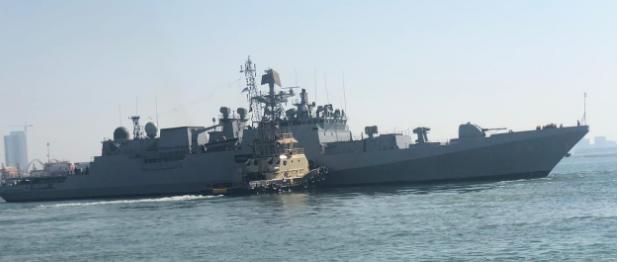Indien opretholder tilstedeværelse af flåde i Den Persiske Golf