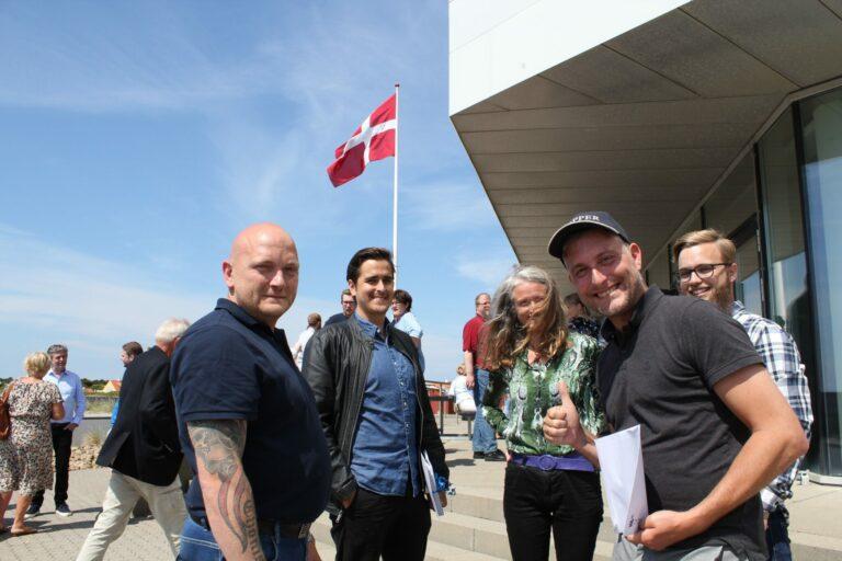 Glade billeder: 42 nye søfolk dimitterer fra Martec Skagen