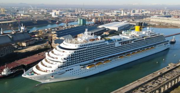 Fincantieri back in the black after cruise re-start