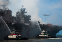 US sailor charged for arson attack on USS Bonhomme Richard