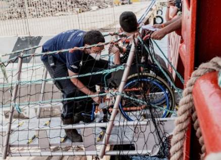 Migrant rescue ship appeals for safe port for second time in a month