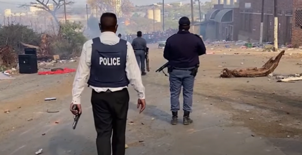 South African port operations disrupted by rioting