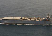 Iransk krigsskib kommer ind i danske farvande