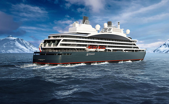 The World's First Hybrid Cruise Ship Gets Delivered