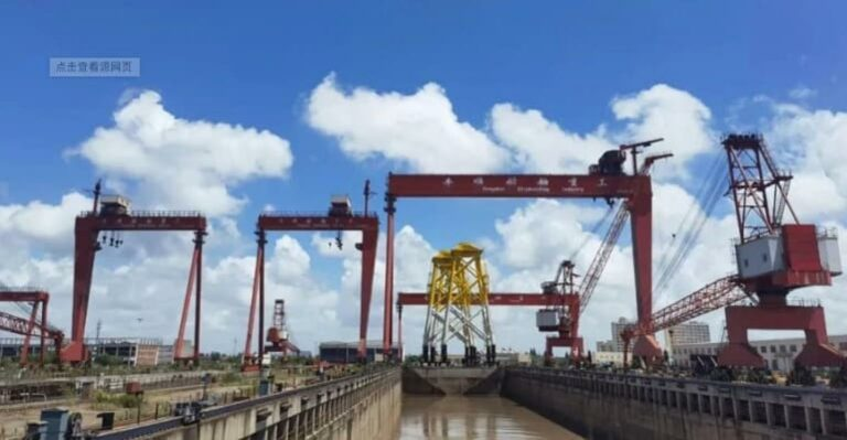 Auction Won by CIMC Enric to Acquire Fengshun Shipyard Assets