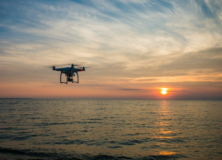 First Ever Maritime Cargo Delivery Via Drone Testing