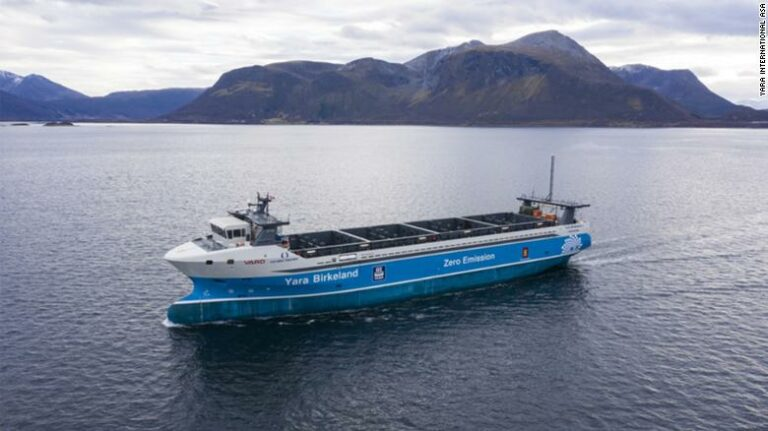 World's First Crew less Cargo Ship in Norway