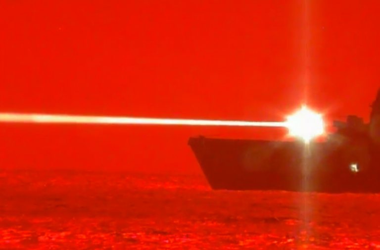 France Introduces a Laser Gun for its Ships