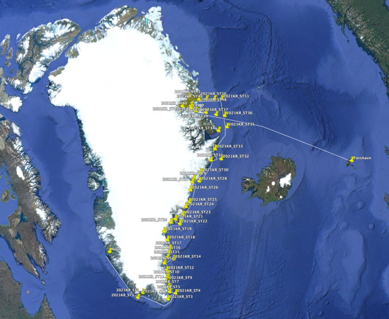 Arktisk Kommando hjælper til ny viden om havet rundt om Grønland