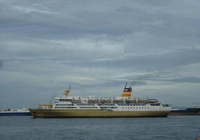 Video: Færge omdannet til flydende karantæne-hospital