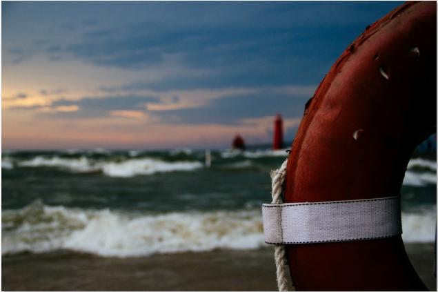Redningstjenester rykkede ud til synkende båd ved Vordingborg