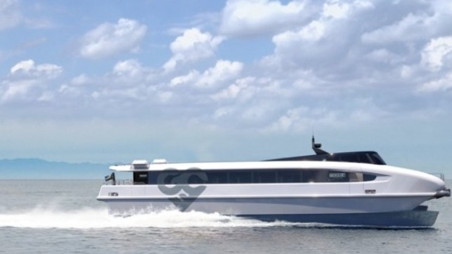 Swedish start-up designs futuristic catamaran for city commuters