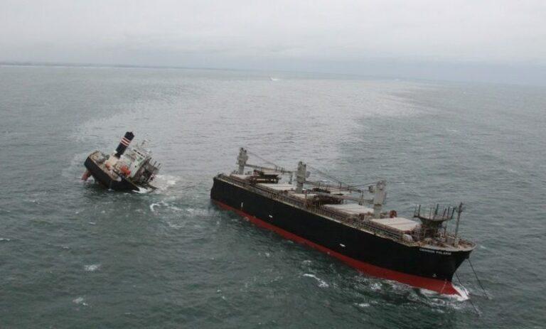 Salvage team ready to remove fuel from Crimson Polaris