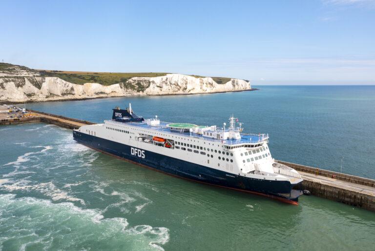Jomfrutur: DFDS's nye færge er den længste i den Engelske Kanal