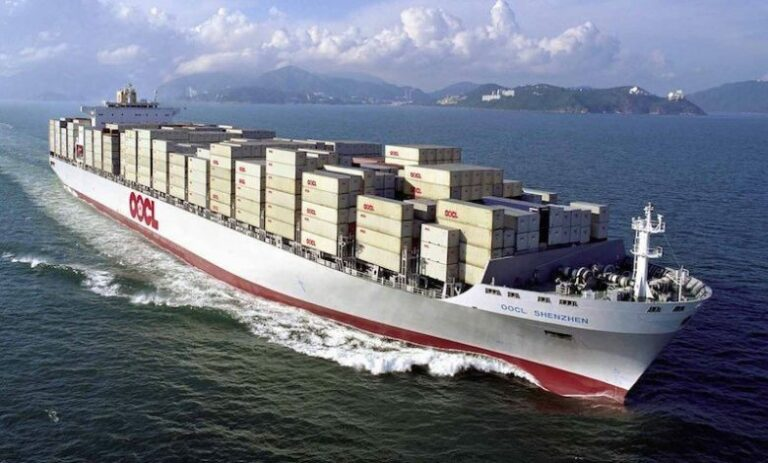 OOCL Launching First Ever China to US rail/sea Services