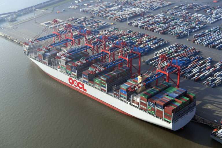 OOCL posts record first-half result