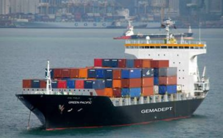 Containership and Fishing Vessel Collide in Vietnam