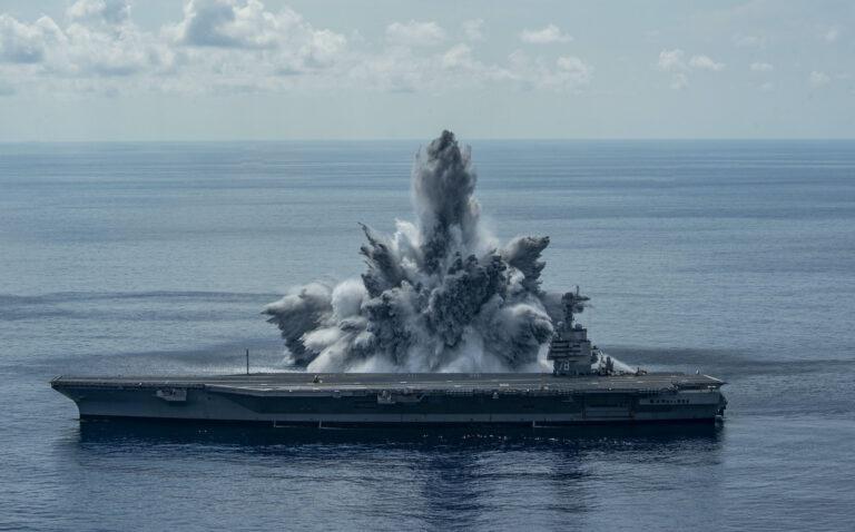 VIDEO: US Navy Completes New Explosive Shock Trials