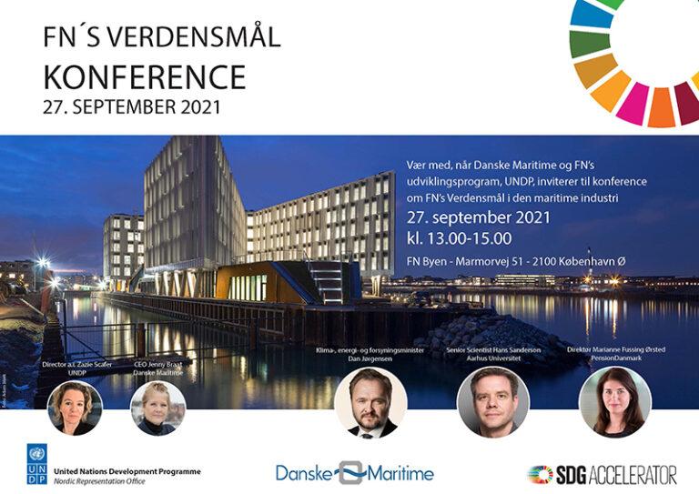 Kom til konference om FN's Verdensmål i den maritime industri